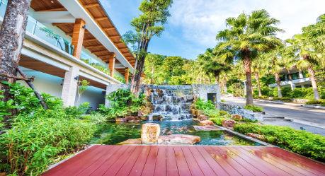 49355 exterior water garden - HIGHLIGHTS